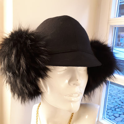 Real fur, wool felt, LIKA Design, €220