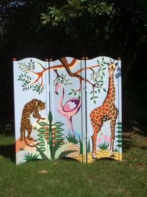 Paravent par artiste peintre à Nantes (Loire-Atlantique)