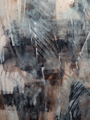 """Awakening"", tecnica mista su carta, cm. 30 x 40 – € 130"