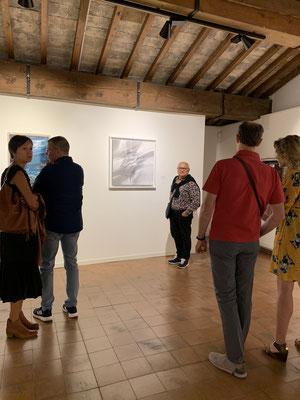 """Mostra   """"Doni da scoprire"""" - Palazzo Sarcinelli- Conegliano - Davanti la mia opera"""