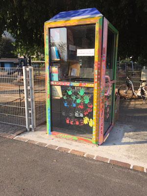 Bibliocabina via San Jorio