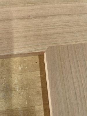 姿見の製作。家具工房ZEROSSOのオーダーメイド家具。