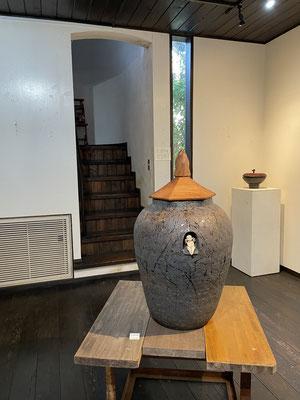 森下真吾、陶展。芸術空間あおき、蓋物、FUTAMONO-YA。家具工房ZEROSSO、コラボレーション。
