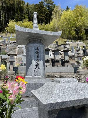 富士川町の隆運寺。父の合同墓。家具工房ZEROSSO、コンパクトなお仏壇、お仏壇の閉眼供養。