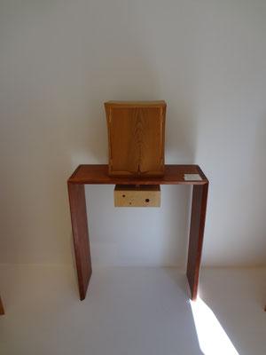 桜のお仏壇「波」/八ヶ岳の家具工房ZEROSSOのお仏壇