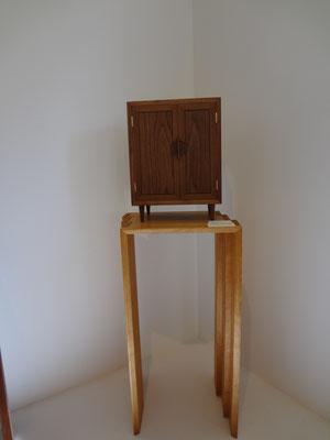 お仏壇「想い」、ウォールナット/八ヶ岳の家具工房ZEROSSOのお仏壇