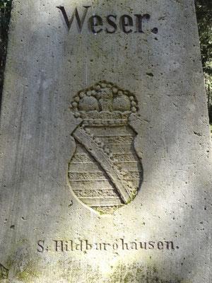 Dreistromstein - Wesereinzugsgebiet