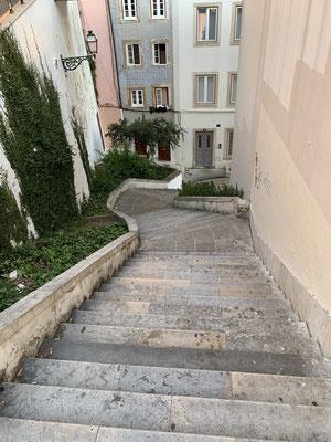 ... und noch mehr Treppen