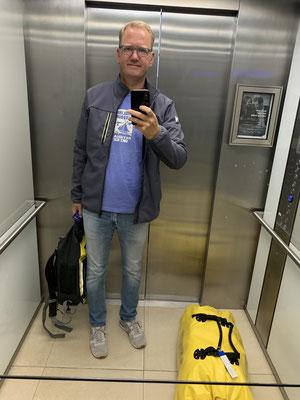 Am 21.12. ging es für mich dann schon zurück nach Deutschland ... eine Tasche und ein Rucksack ... alles was ich besitze ... schon ein komisches Gefühl...