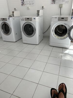 Wäsche waschen ... nicht so spannend, aber muss auch gemacht werden ...
