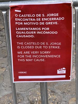 Da das Castello wegen Streik geschlossen war .. ging es doch schon etwas früher ...