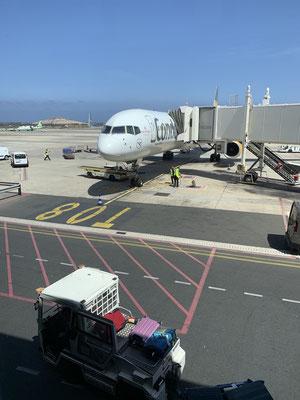 Nach ein paar weiteren Einkäufen bei AWN  geht es am Mittwoch dann schon wieder zurück nach Gran Canaria ...