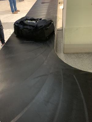 Und auch das Gepäck hat es tatsächlich bis Lanzarote geschafft!