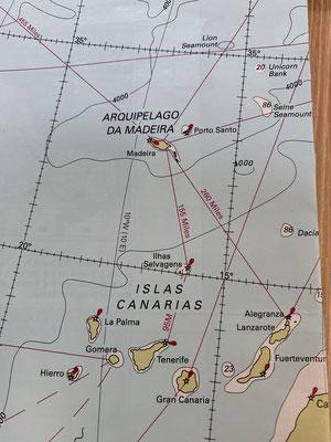 ... geht es morgen dann direkt Richtung Lanzarote ... in gut zwei Tagen sollte ich dort sein ... Madeira werde ich aber nochmal besuchen müssen !