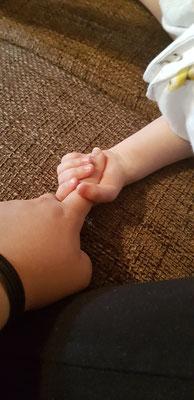 Mein kleiner Lieblingsmensch, meine Nichte, mein Herzchen.