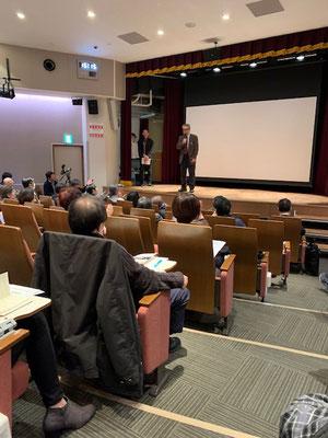 報告集会 日比谷図書文化館 2019.3.20
