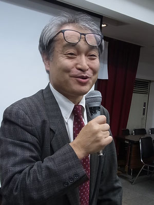 報告集会 植村隆氏 2017.10.13