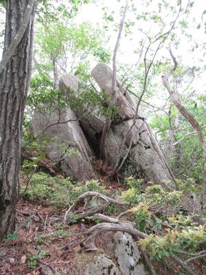 鈴鹿のおばれ石に似ている