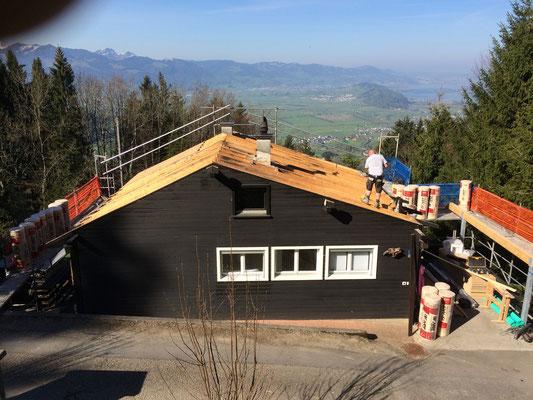 Dachsanierung IN ARBEIT