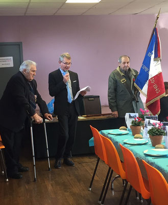 Discours du maire, Jean-Patrick Leroux.