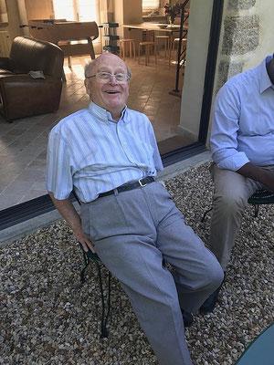 P. Gilbert Delange fêtait ses 83 ans