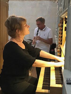Anne-Marie Concé et Thierry Besnard
