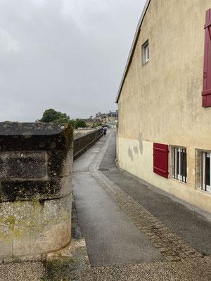 Langres et ses murailles, malheureusement il pleuvait