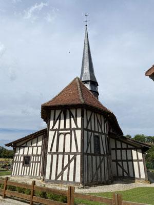 Une autre église à pans de bois à Bailly-le-Franc