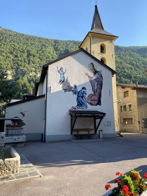 L'église de Bovernier