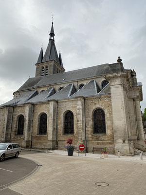 L'église de Chateauvillain