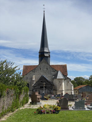 L'église à Momorency-Beaufort