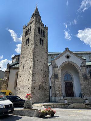 L'église d'Orsières