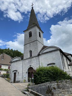 L'église de Lods