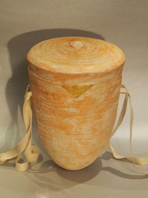 """schöne Urne """"Sahara"""", Blattgold"""