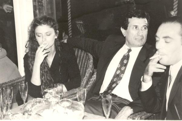 Armando Casodi, Amanda Sandrelli e Leopoldo Mastelloni