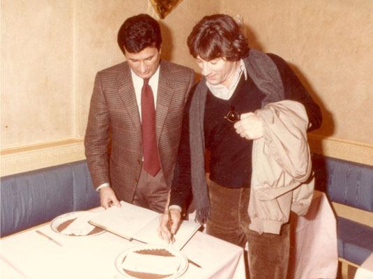 Armando Casodi con Robert De Niro