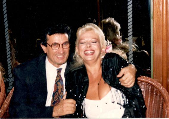 Armando Casodi con Sandra Milo