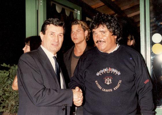 Armando Casodi con Umberto Smaila