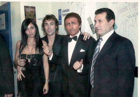 Armando Casodi con Dario Ballantini