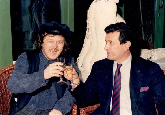 Armando Casodi con Zucchero Fornaciari