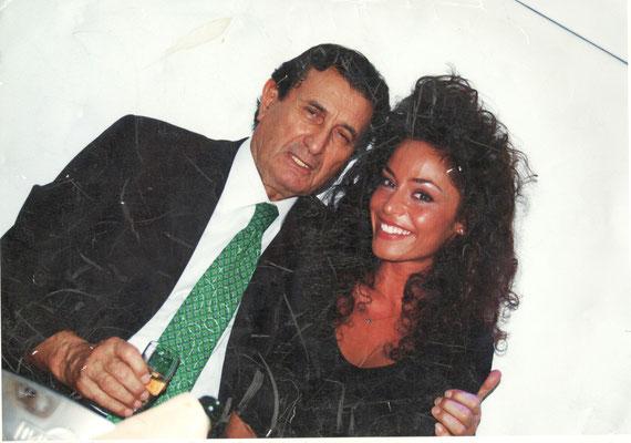 Armando Casodi con Raffaella Fico