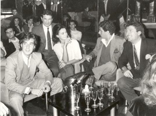 Armando Casodi con Giovanni Alberto Agnelli