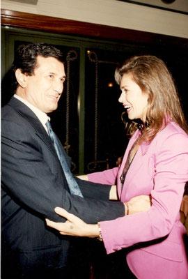 Armando Casodi con Corinne Cléry