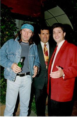 Armando Casodi con Vasco Rossi