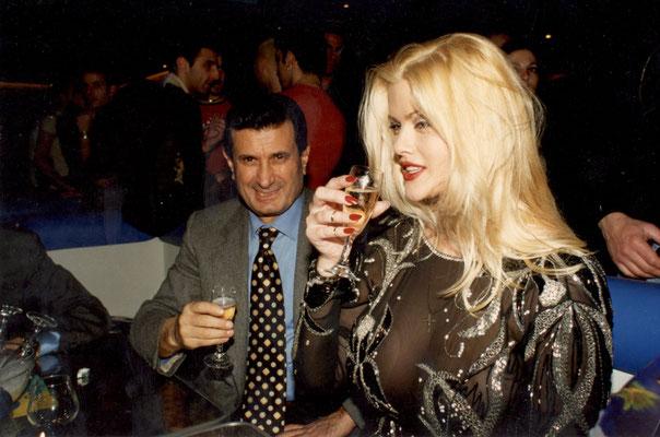 Armando Casodi con Anna Nicole Smith