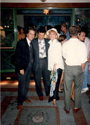 Armando Casodi, Giorgio Gaber e Ombretta Colli