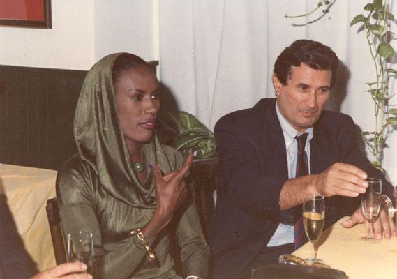 Armando Casodi con Grace Jones