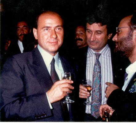 Armando Casodi con Silvio Berlusconi