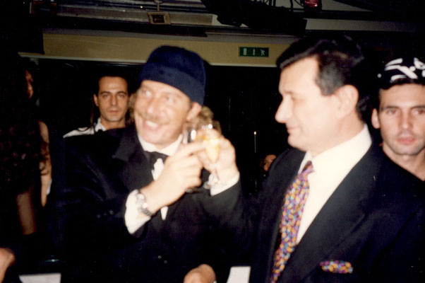 Armando Casodi con Alberto Castagna