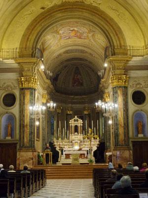 Navata centrale della Chiesa di S. Francesco